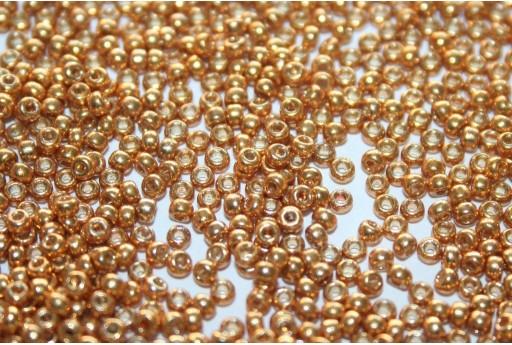 Miyuki Rocailles Duracoat Galvanized Yellow Gold 11/0 - 100gr