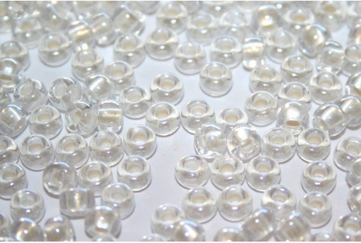 Miyuki Seed Beads Inside Dyed Pearlize White 6/0 - 10gr