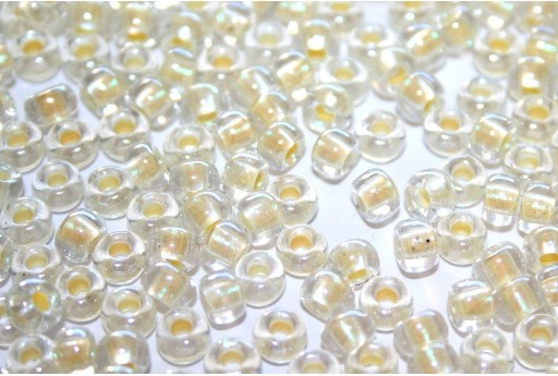 Miyuki Seed Beads Inside Dyed Pearlize Cream 6/0 - 10gr