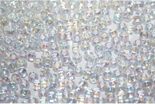 Rocailles Miyuki Seed Beads Crystal AB 8/0 - 10gr