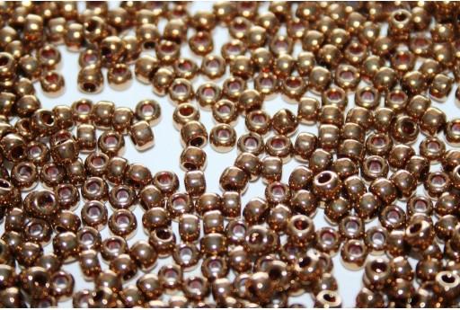 Rocailles Miyuki Seed Beads Metallic Light Bronze 8/0 - 10gr