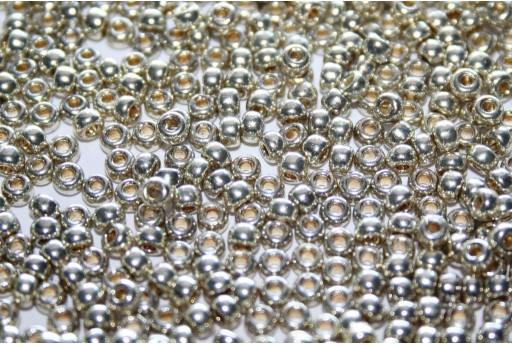 Rocailles Miyuki Duracoat Galvanized Silver 8/0 - 10gr