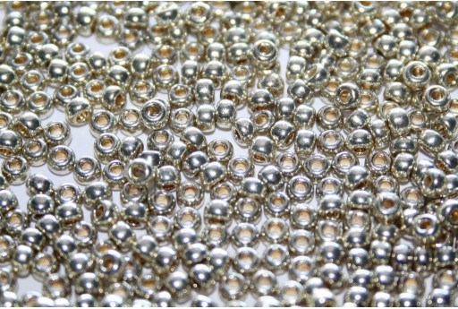 Rocailles Miyuki Seed Beads Duracoat Galvanized Silver 8/0 - 10gr