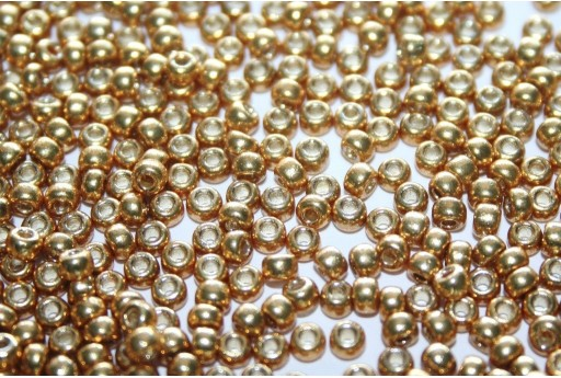 Rocailles Miyuki Seed Beads Duracoat Galvanized Gold 8/0 - 10gr
