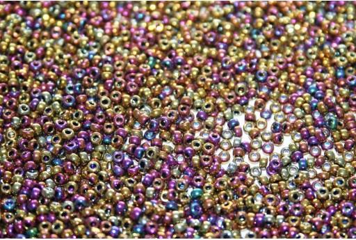 Miyuki Seed Beads Metallic Purple Gold Iris 15/0 - 5gr
