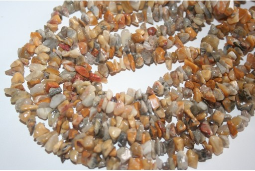 Agate Crazy Lace Beads Chips 5x8mm - 220pz