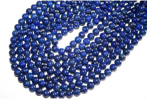 Filo 48 Pietre Lapis Lazuli Sfera 8mm LA2