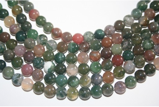 Jasper Beads Fantasy Sphere 8mm - 48pz
