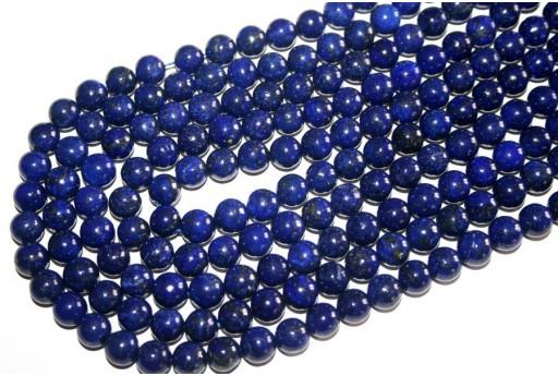 Filo 38 Pietre Lapis Lazuli Sfera 10mm LA3