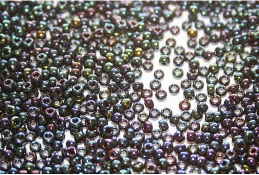 Perline Miyuki Metallic Dark Blue Iris 11/0 - 10gr