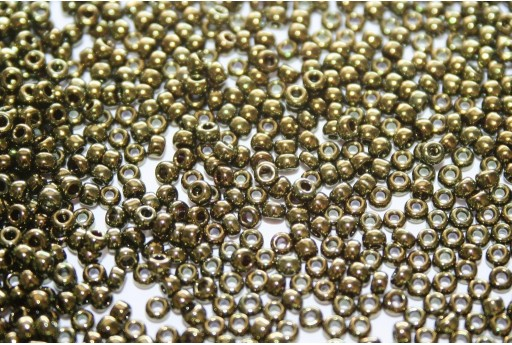 Miyuki Seed Beads Metallic Olive 11/0 - 10gr