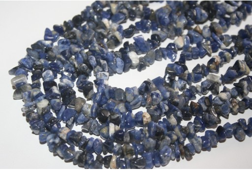 Sodalite Beads Chips 5x8mm - 220pz