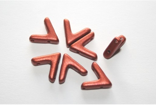 Perline Ava® Copper 10x4mm - 100pz