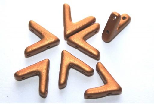 Ava® Beads Brass Gold 10x4mm - Pack 100pcs