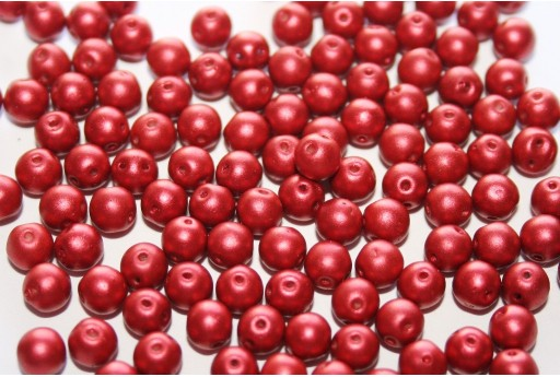 Rounduo® Beads Lava Red 5mm - Pack 600pcs