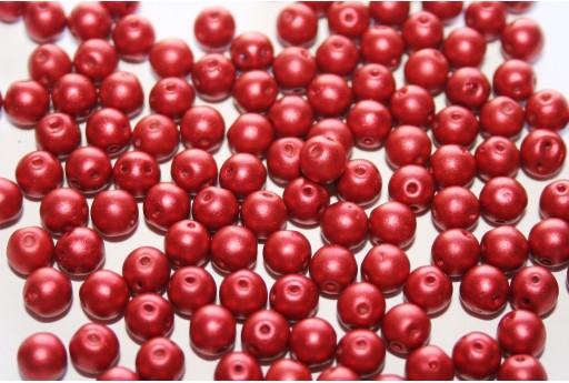 Rounduo® Beads Lava Red 5mm - Pack 600pcs