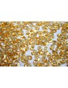 Long Magatama Miyuki Silver Lined Gold 4x7mm - 100gr