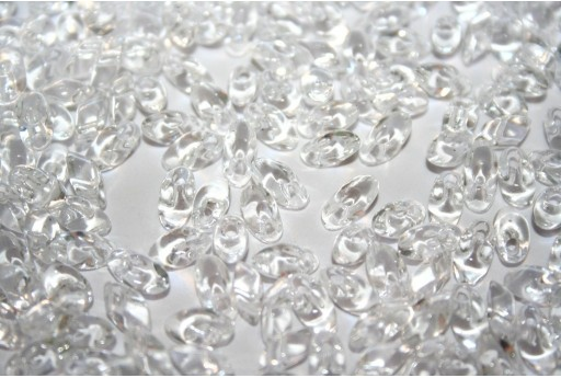 Miyuki Long Magatama Beads Crystal 4x7mm - 10gr