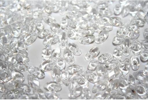 Miyuki Long Magatama Beads Crystal 4x7mm - Pack 100gr