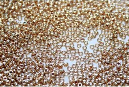 Rocailles Miyuki Galvanized Gold 15/0 - 10gr