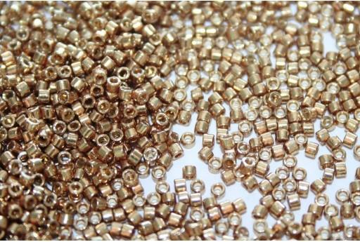 Miyuki Delica Beads Duracoat Galvanized Champagne 11/0 - Pack 50gr