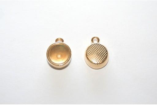 Castone Pendente Oro per Chaton SS39 10,5x14mm - 2pz