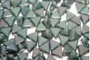 Khéops® Par Puca® Beads Opaque Green Turquoise Nebula 6mm - 10gr