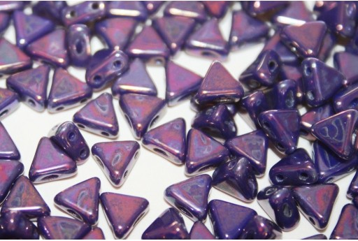 Perline Khéops® Par Puca® Opaque Sapphire Nebula 6mm - 50gr