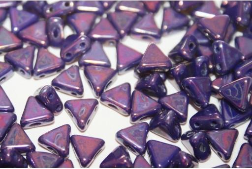 Khéops® Par Puca® Beads Opaque Sapphire Nebula 6mm - Pack 100gr