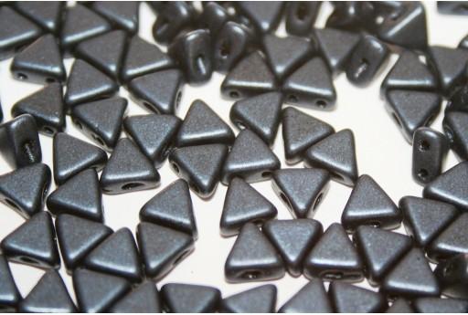 Khéops® Par Puca® Beads Metallic Mat Dark Blue 6mm - Pack 100gr