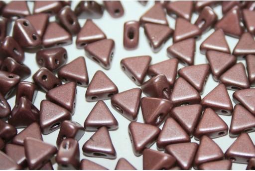 Khéops® Par Puca® Beads Metallic Mat Dark Plum 6mm - Pack 50gr