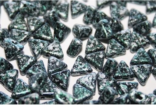 Perline Khéops® Par Puca® Tweedy Green 6mm - 50gr