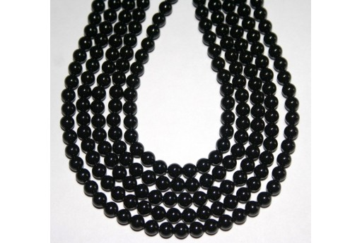 Swarovski Pearls Mystic Black 5810 4mm - 20pcs