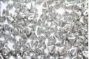 Super-Khéops® Par Puca® Beads Silver Alluminum Mat 6mm - 10gr