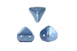 Super-Khéops® Par Puca® Beads Blue Metallic Mat 6mm - Pack 50gr