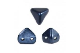 Super-Khéops® Par Puca® Beads Dark Blue Metallic Mat 6mm - Pack 50gr