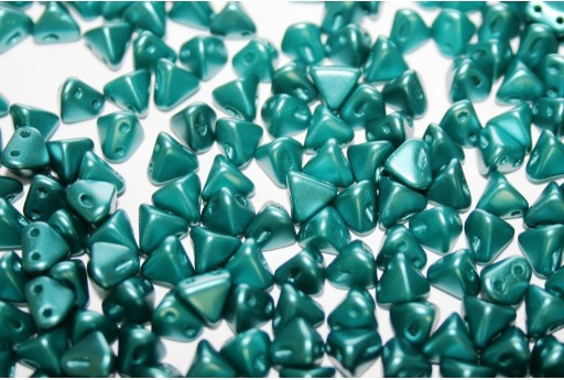 Perline Super-Khéops® Par Puca® Pastel Emerald 6mm - 10gr