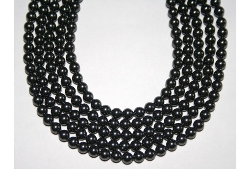 Swarovski Pearls Black 5810 4mm - 20pcs