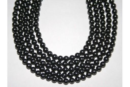 Swarovski Pearls Black 5810 4mm - 20pcs
