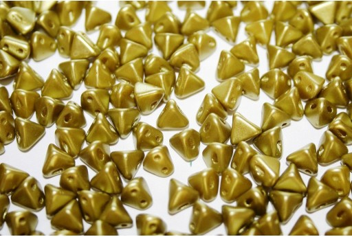 Super-Khéops® Par Puca® Beads Pastel Lime 6mm - 10gr
