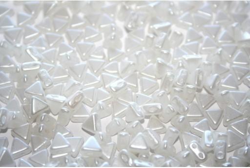 Khéops® Par Puca® Beads Pastel White 6mm - 10gr