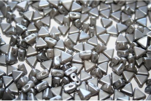 Khéops® Par Puca® Beads Pastel Light Grey Silver 6mm - 10gr