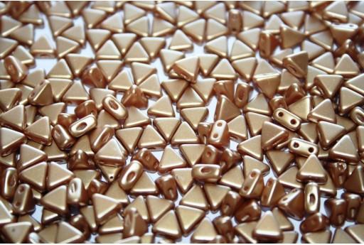Khéops® Par Puca® Beads Pastel Amber 6mm - 10gr