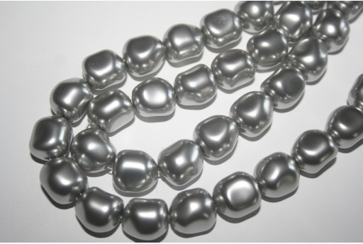 Swarovski Pearl Light Grey 14mm 5840 616