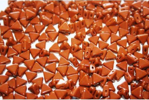 Khéops® Par Puca® Beads Opaque Chocolate 6mm - 10gr