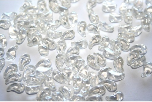 Zoliduo® Left Beads Crystal Shimmer 5x8mm - 20pcs