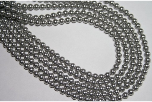 Swarovski Pearls Light Grey 5810 4mm - 20pcs