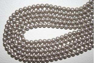 Swarovski Elements Pearls 5810 Platinum 4mm - Pack 500pcs
