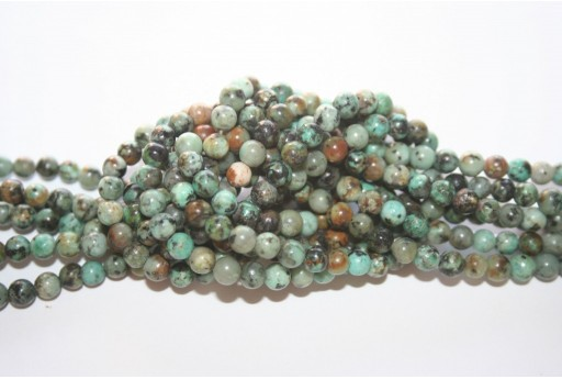 African Turquoise Rounds 4mm - 86pcs