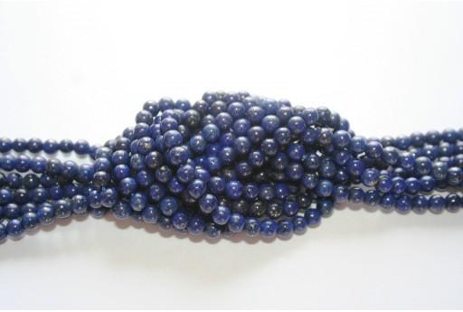Pietre Lapis Lazuli Sfera 4mm - 100pz